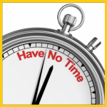 No Time Conference Planning Tasks